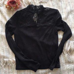 Black Lace top blouse